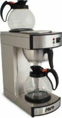 Roestvrijstalen Saro Filter Koffiezetapparaat SAROMICA Model | 24 kopjes | 2 x 1.8 Liter