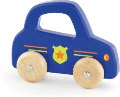 Blauwe New Classic Toys Viga Toys - Politieauto met Handvat