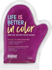 MineTan Bronze On Applicator Mitt Velvet – Better in Color - Tanning Mitt
