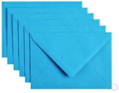 Papicolor Envelop C6 hemelsblauw 105gr-CV 6 st 302949 - 114x162 mm