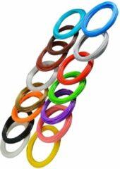 Beige Otiz Goods 3D Teken Pen Speelgoed Filamenten 15X10M – Tekenen en Knutselen Navullingen voor Kinderen – 3D Knutselpakket met Vullingen
