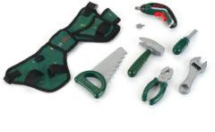 Groene Bosch Speelgoed Gereedschapsgordel Met Ixolino Accuschroevendraaier