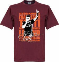 Retake Totti Legend T-Shirt - Rood - S
