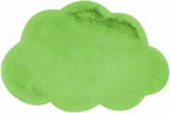 Kayoom Vloerkleed 'Wolkje' kleur Groen, 60 x 90cm