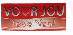 Voor Jou! Wensreep love you 70 Gram