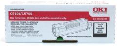 OKI C5600, C5700 tonercartridge zwart standard capacity 6.000 pagina s 1-pack