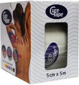 CureTape Classic - Kinesiotape - Wit - 5 cm x 5 meter
