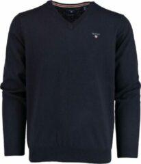 Donkerblauwe Gant 83102 Pullover - Maat M - Heren