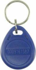 WL4 RFID tags blauw met key ring (10 stuks) met serienummer