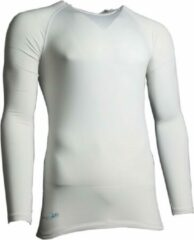Precision training thermoshirt basislaag polyester wit