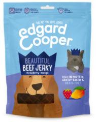 Edgard-Cooper Edgard&Cooper Beef Jerky - Hondensnacks - Rund Aardbei Mango 150 g