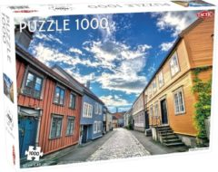 Tactic Puzzel Around the World Nothern Stars: Trondheim Old Town - 1000 stukjes