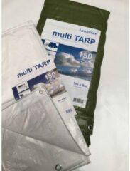 PVC-Tarp.com / Lankotex Afdekzeil | Bouwzeil | Dekzeil | Dekkleed | Bache | PE-160 -- Extra zwaar! | 4x5 wit