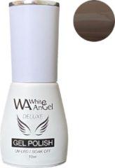 Taupe Gellex White Angel Gellex Deluxe Gel Polish, gellak, gel nagellak, shellac - Brandy 129
