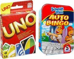 Spelvoordeelset Uno & Auto Bingo
