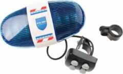 Blauwe Toitoys Police Light/Sound For Bicycle De [Excl. Batt.]