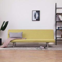VidaXL Slaapbank polyester groen