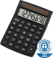 Bureaurekenmachine Citizen Office ECC-210 Zwart Aantal displayposities: 8 werkt op zonne-energie (b x h x d) 102 x 30 x 143 mm