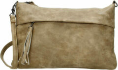 Beagles Clutch / Schoudertas Taupe