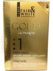 Fair And White Gold Ultimate Prepare Exfoiliating Argan soap 200 gr