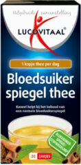 Lucovitaal Bloedsuikerspiegel Thee 20 zakjes