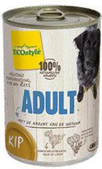 Ecostyle Blik Vitaal Vlees Adult - Hondenvoer - 400 g