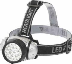 Quana LED Hoofdlamp - Igan Slico - Waterdicht - 50 Meter - Kantelbaar - 23 LED's - 1.1W - Zilver | Vervangt 9W