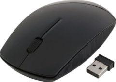 Indena 2.4G muis USB draadloze voor PC Laptop computer G-196 - zwart
