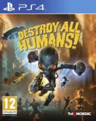 Destroy All Humans Op Ps4, Een Actiespel Voor Ps4 Verkrijgbaar Bij Micromania!