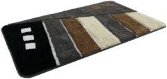 Badematte »Gembloux«, Höhe ca. 20mm, Microfaser, rutschhemmender Rücken, Kinzler
