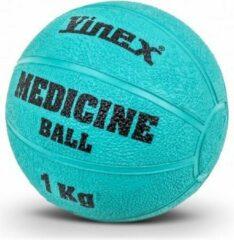 Turquoise Vinex ESAM® Robuuste Medicijnbal - Medicine bal - Rubber - Turquis - 1 kg