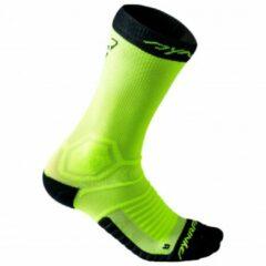 Groene Dynafit - Ultra Cushion Sock - Loopsokken maat 35-38 groen/zwart
