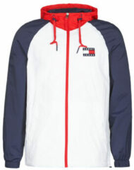 Witte Jas Tommy Hilfiger ColorBlock ZipThrough Jacket