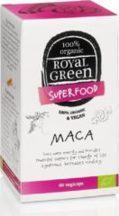 Royal Green Royal groen / Biologische Maca (60 veggie caps)