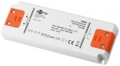 LED-transformator Constante spanning Goobay SET 24-30 LED slim 30 W 1.25 A 24 V/DC Niet dimbaar, Geschikt voor meubels