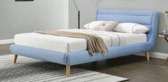 Home Style Tweepersoonsbed Elanda 140x200cm in blauw