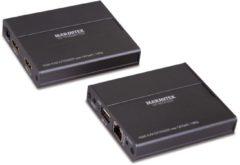 Zwarte Marmitek MegaView 76 Verleng jouw HDMI signaal over UTP kabel (netwerkkabel) – KVM