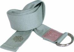 Holi Yoga HOLI | Yogariem / Yogaband | Groen | Premium Organic | Katoen | 183 cm | Met Gesp | Band voor Yoga | Yoga To-Go