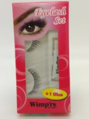 Zwarte Fing'rs Wimp'rs by Fing'rs EYELASH set + 1 glue