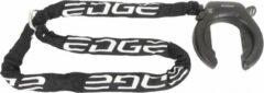 Witte Ringslot Edge Marmo ART2 met insteekketting Edge Marmo 140 cm - zwart