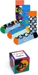 Lichtblauwe Happy Socks Andy Warhol Limited Edition Giftbox - Maat 36-40