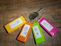 About Coffee and Tea Luxe theepakket 4 soorten - losse thee - thee -vrolijke thee