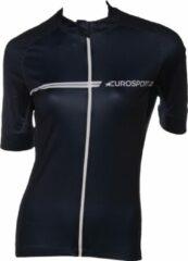 Blauwe Tenn Outdoors / Eurosport Eurosport wielershirt navi blue