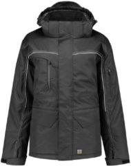 Donkergrijze Tricorp midi parka canvas - Workwear - 402007 - donkergrijs - maat XXL