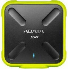 ADATA SD700 256GB Micro-USB B 3.0 (3.1 Gen 1) Zwart, Geel