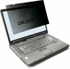 Grijze Dicota D30317 Privacyfolie 35,6 cm (14) Geschikt voor model: Laptop