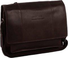 Bruine Cowboysbag The Chesterfield Brand Gent Fietstas brown Leren tas