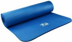 Urban fitness UFE Fitness mat (182 x 58 cm x 10 mm.) blauw