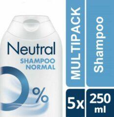 Neutral Shampoo 0% Parfum - Gevoelige Huid - Voordeelverpakking - 6 x 250 ml