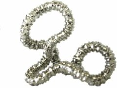 Tangle Toys Tangle - Totally Textured Metallic Junior - zilver